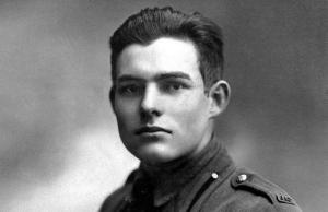 Young Ernest Heminway