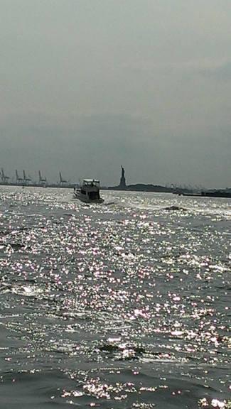 Hudson river/Liberty Island
