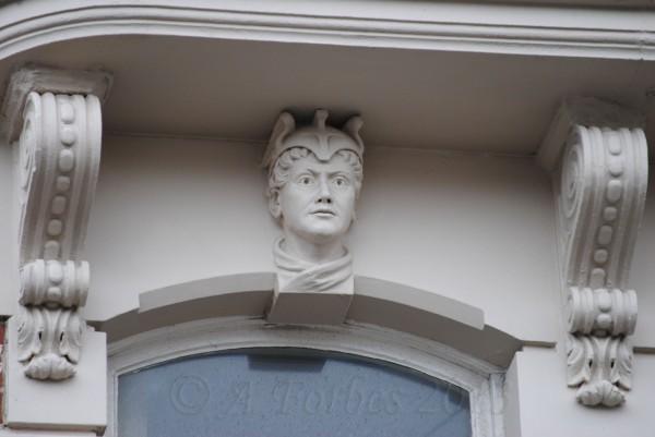 Face set in fascia