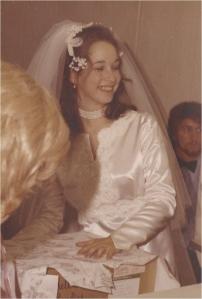 Happy 1971 Bride