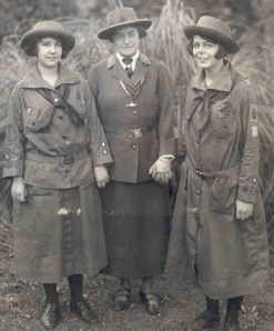 "Center: Juliette ""Daisy"" Gordon Low-The founder of Girl Scouts in America"