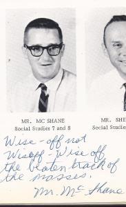 McShane's Admonition