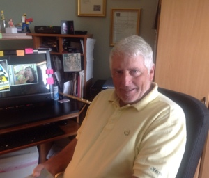 Doug at my desk