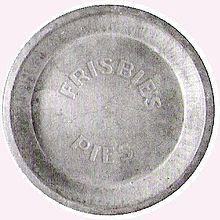 Frisbie Pie Tin