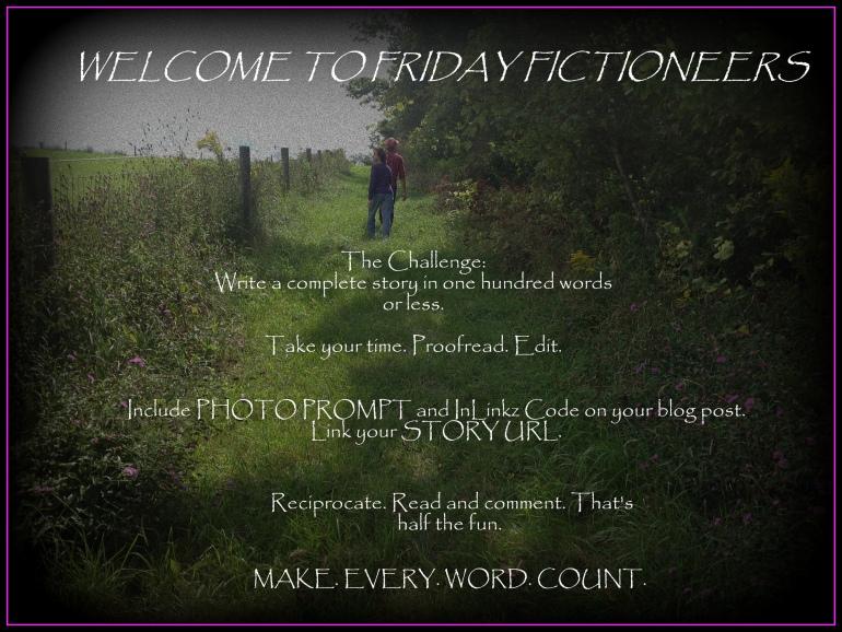 Friday Fictioneers Farm Path