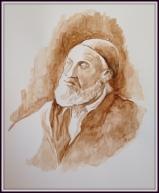 YUSSEL GITTERMAN -Original Artwork © Rochelle Wisoff-Fields