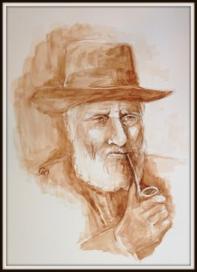HERSHEL LEVINE - Original Artwork © Rochelle Wisoff-Fields