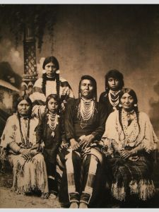 800px-Chief_Joseph_and_family
