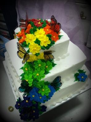 Butterfly tiers