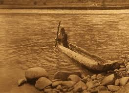nez perce canoe