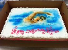 Swim cake