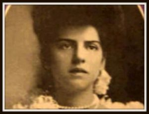 Freddie Alexander Joplin, the woman for whom The Chrysanthemum was written.