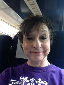 Selfie on AmTrak