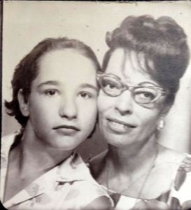 Mom and Me (age 13)