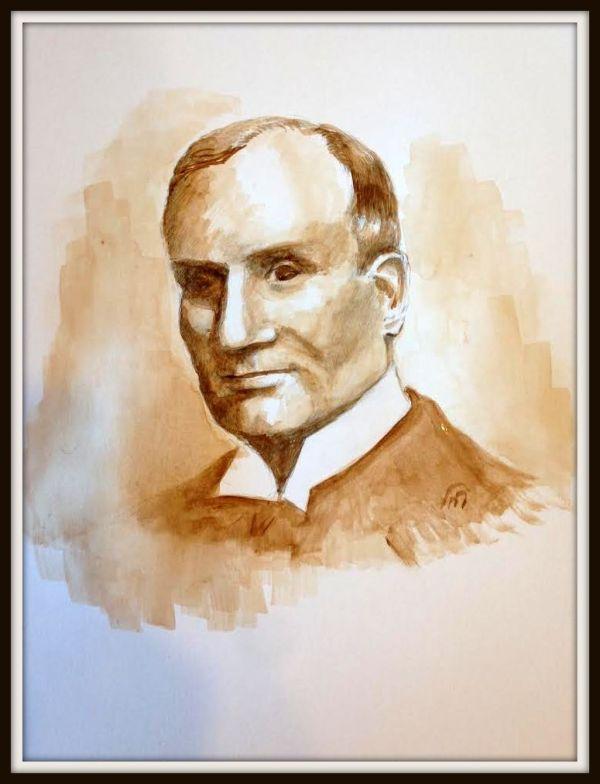 Judge William H. Wallace Original Artwork © Rochelle Wisoff-Fields