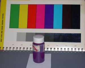 Dibromindigo is the major component in Tyrian purple.