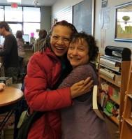 Seeing author friend, Dawn Downey, was definitely a HIGH POINT!