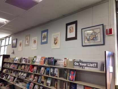 Library wall2