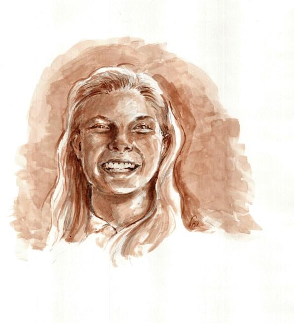 Bayla Gitterman, age 14- Orignal Artwork © Rochelle Wisoff-Fields