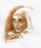 Fruma Ya'el -Original Artwork © Rochelle Wisoff-Fields