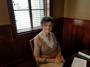 Judy Lowe, fellow author and new friend.