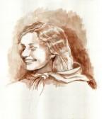 Shayndel Gitterman Abromovich - Original Artwork © Rochelle Wisoff-Fields