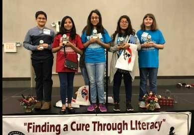 Young award winning authors