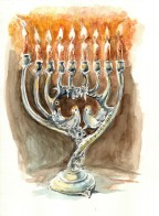 Yussel's Menorah (2)