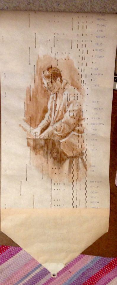 Sarah's scroll