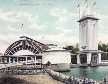 Kansas City's Electric Park circa 1900
