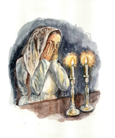 Havah and Shabbos Candles