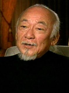Pat Morita, American actor, who was sent with his parents to an internment camp.