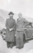 Rabbi Chaim Kruger with Sousa Mendes