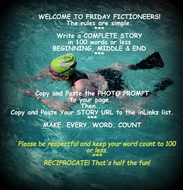 This image has an empty alt attribute; its file name is friday-fictioneers-swimmer.jpg