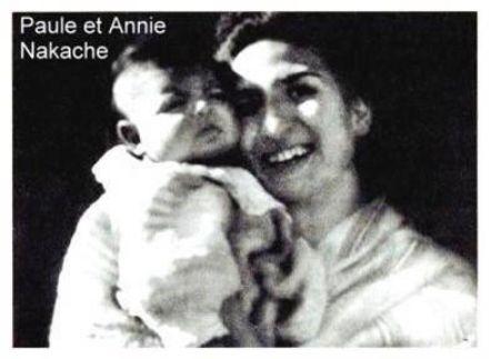 Paule et Annie Nakache