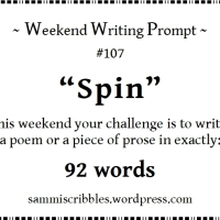 Weekend Writing Prompt - Spin