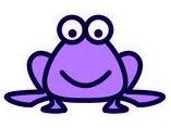 Purple inLinkz Frog