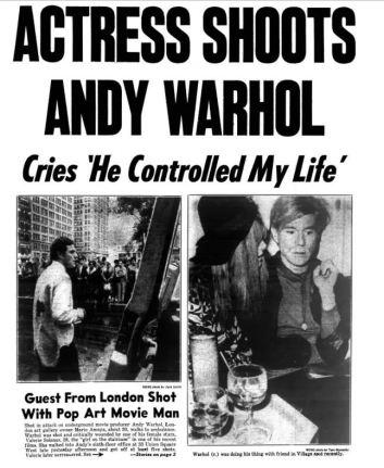 Warhol shot