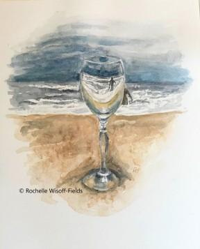 Ocean through a Goblet