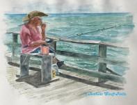 Original Painting 18 x 24 - Framed $950.00