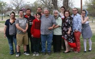 Ray and Vicki with grandchildren