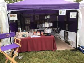 2019 Unplaza tent setup
