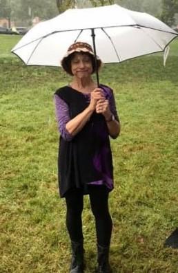 Rochelle with Umbrella UNPlaza 2019