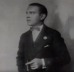 Young George Burns