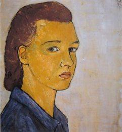 Self Portrait Charlotte Salomon