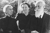 Charlotte Salomon with her grandparents