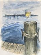 Wine on the Dock (1)